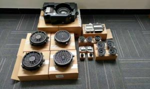 Burmester sound system
